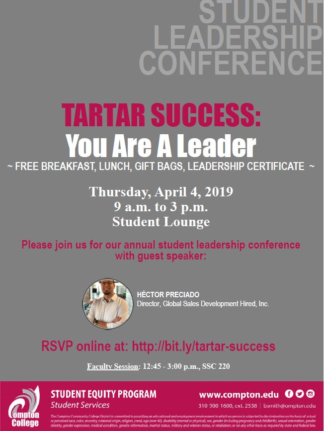 2019 Annual Tartar Succes Conference